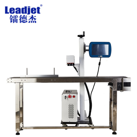 Ezcad Card Control Fiber Laser Marking Machine for Precision Parts