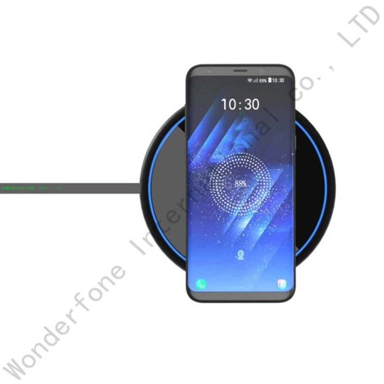 Ultra-Thin Aluminum Alloy Wireless Fast Charger for iPhone