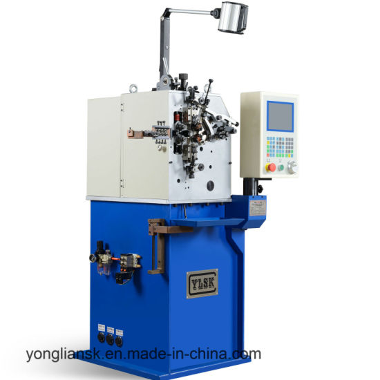 2 Servos Wire Diameter 0.15 - 0.8 mm Automatic Spring Coiling Machine