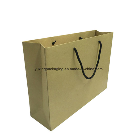 8c21cbd71 China fashion Custom Luxury Kraft Paper Gift Shopping Bag Packaging ...