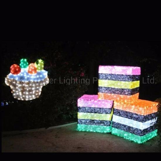 Outdoor Theme Park Festival Decoration Ramadan LED