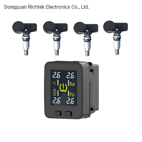 Tire Pressure Monitoring System, with 4 Internal Sensors, Wireless TPMS for Nissan Vehicles
