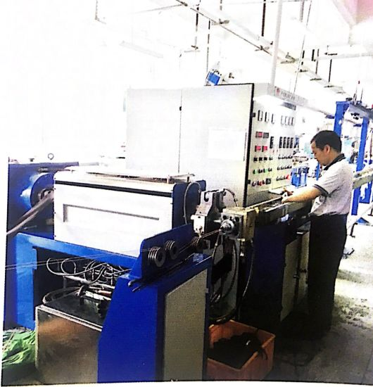 New Irradiation Rubber Wire&Cable Extrusion Machine Production Line pictures & photos