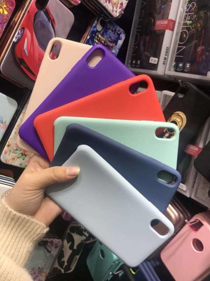 Mobile Phone Silicone Case for iPhone X/Xs/Xr/Xs Max