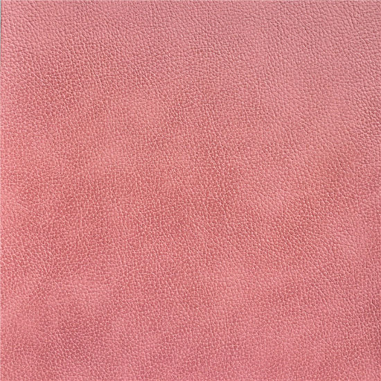 Litchi Pattern Tw-Toned Glittery Microfiber PU Rexine Leather for Furniture Sofa Chair Seat Cover Upholstery Wall Panel Handbag Suitcase pictures & photos