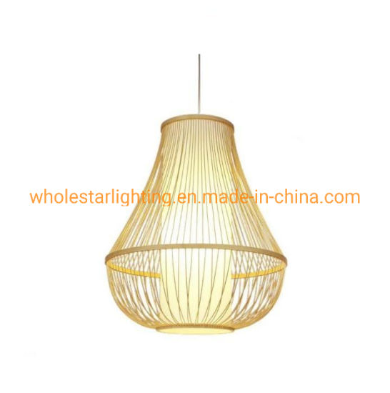 Rattan lamp, bamboo pendant lamp (WHP-242) pictures & photos
