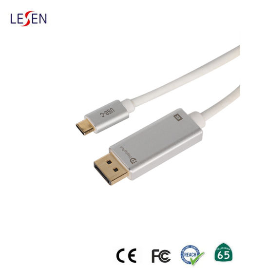 USB Type C to Displayport Dp Adapter Cable