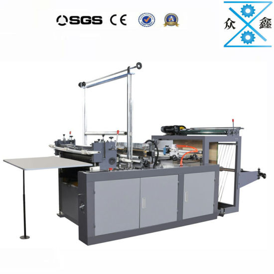 Hot Sealing Cold Cutting Platstic Bag Making machine