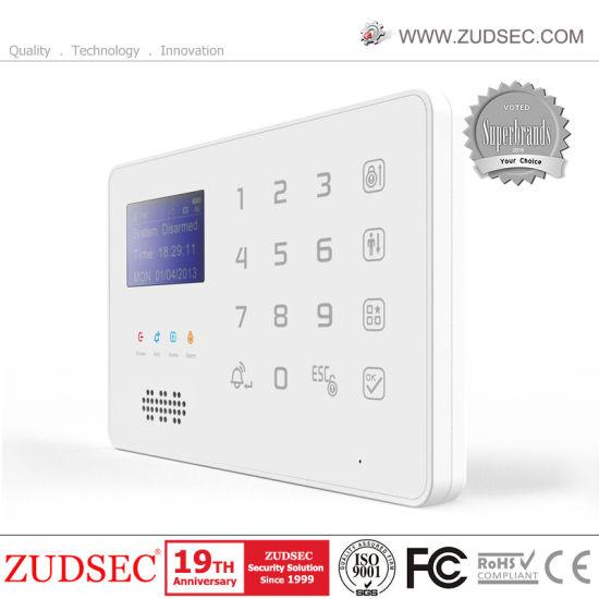 Security Home GSM Burglar Alarm System with APP Control