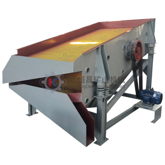 Mining Vibrating Screens for Screening Loose Materials Stones and Debris Larger Than 5/16 Inch