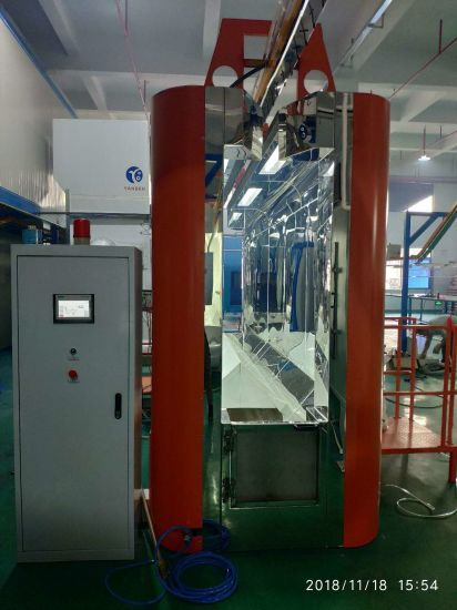 Automatic Powder Coating Machine Spray Booth for Fast Color Change
