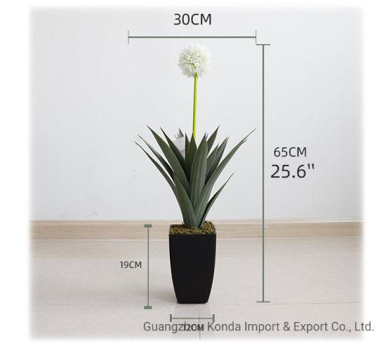Factory Price Home Decor Indoor Garden Decoration Modern Artificial Flower Plant
