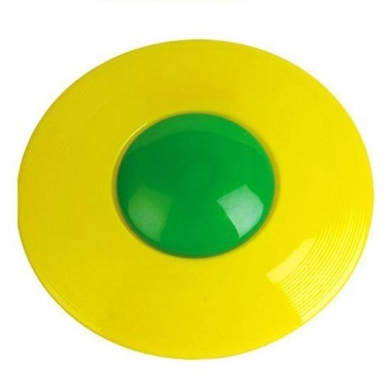 Plastic Colorful Cheap Dog Flying Frisbee for Promotion pictures & photos