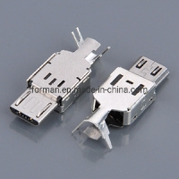 Factory USB 3.1 Type C Connector Male with Metal Housing