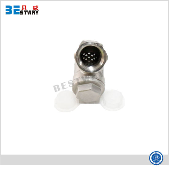 Ss Thread Y Type Strainer Valve pictures & photos