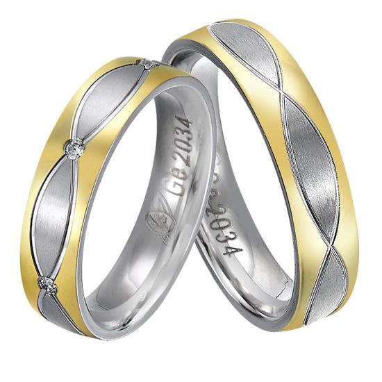 Women's Ring Zircon Platinum 925 Silver Plated Rings Wedding Jewelry
