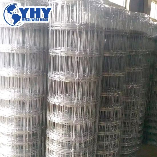 1.5m Tall High Tensile Hot Dipped Galvanized Fixed Tight Deer Fence