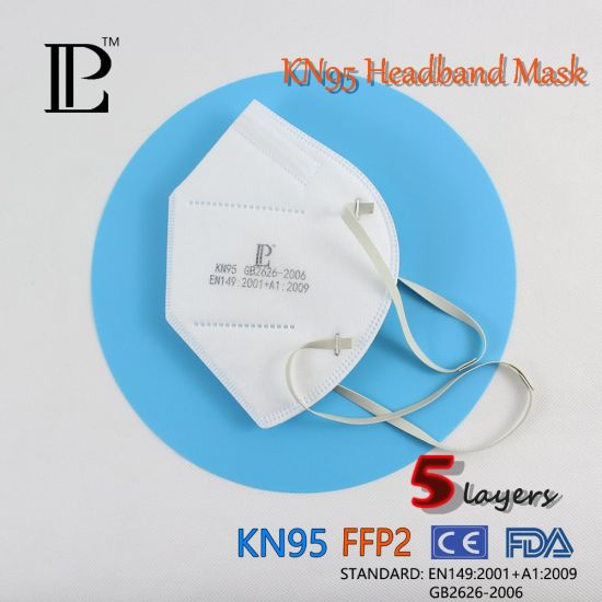 Factory Supply Nonwoven Kn95 Folding Half Face Mask for Self Use