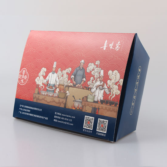 Affordable Price Eco-Friendly White Cardboard Environmental Protection Food Paper Box for Take Away pictures & photos