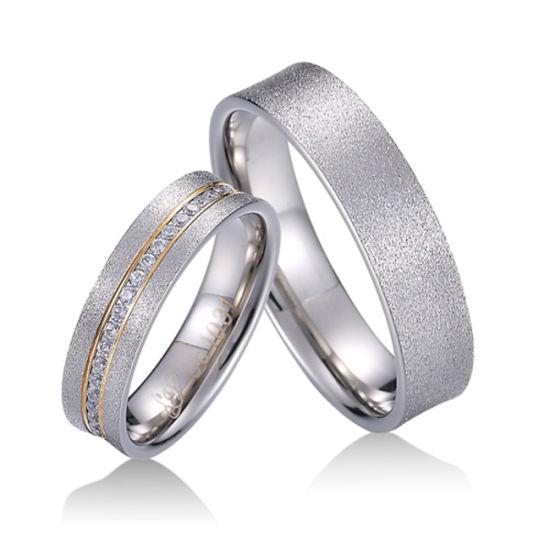 Mens Zircon 14K Plated Gold Ring Diamond Rings Jewelry Women