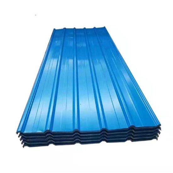 30-275G/M2 Color Prepainted Corrugated Metal Steel PPGI Steel Roofing Sheet