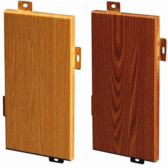 Wooden or Stone Color Aluminum Solid Panel Aluminum Panels