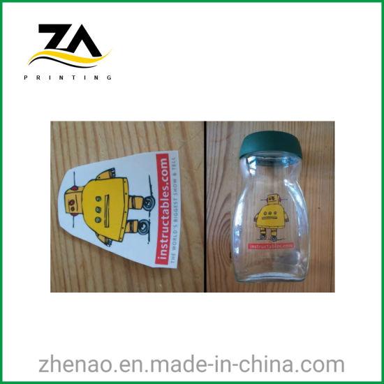 Barcode Adhesive Paper PVC Transparent Label Printing Beverage Bottle Sticker