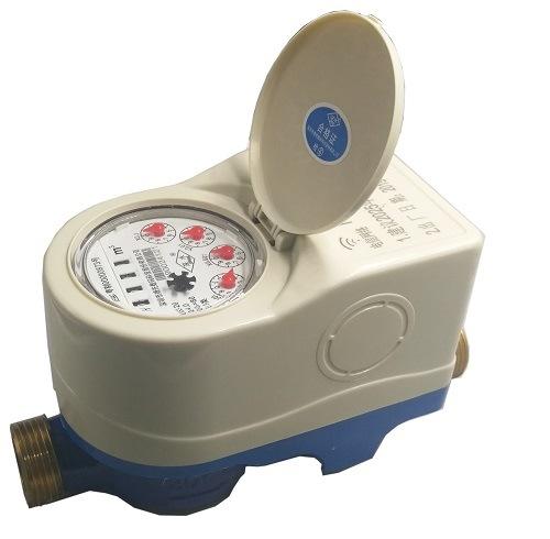 GPRS Cold Dry Water Meter Wireless Brass Body