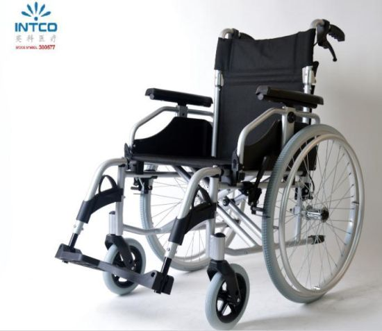 Hot Sale Lightweight Manual Wheelchair with Quick Release pictures & photos