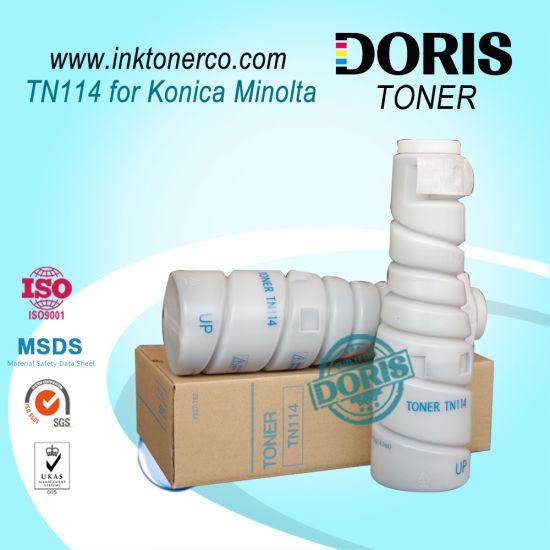 Bulk Refill Copier Toner Powder Tn114 for Konica Minolta Digital Di162 210 7516 7521 1611 2011