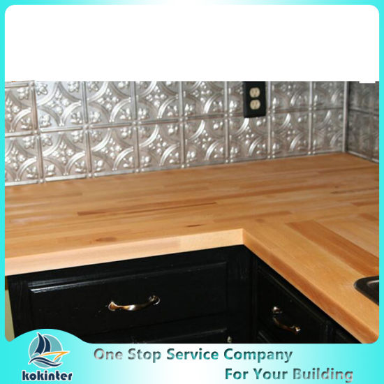 Customized Bamboo Countertop, Kitchen Table Top, Woktop