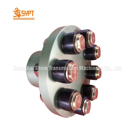 Fcl355 Flanged Shaft Coupling With Pin And Bushings