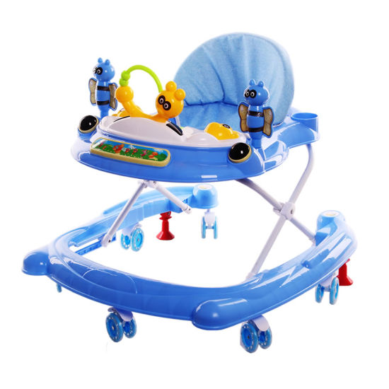 Simple New Model Baby Walker Toys with Light and Music on Sale pictures & photos