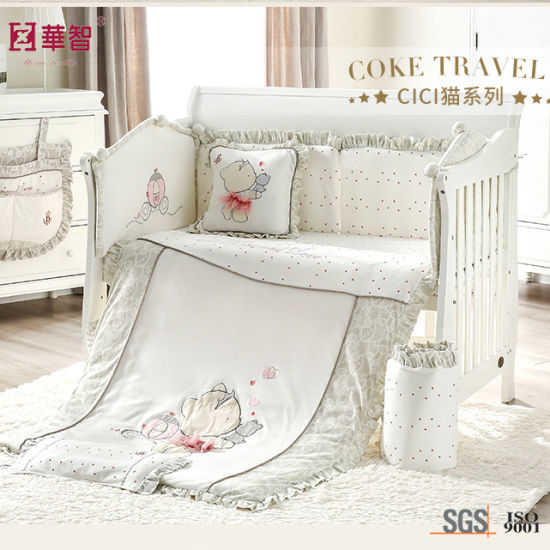 High Quality Soft Crib Quilt Sets pictures & photos