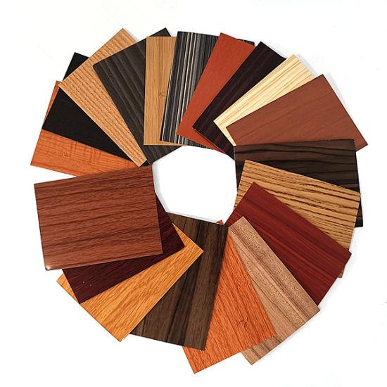 Wood Grain Aluminum Sheet Building Material Wall Panel for Exterior Wall