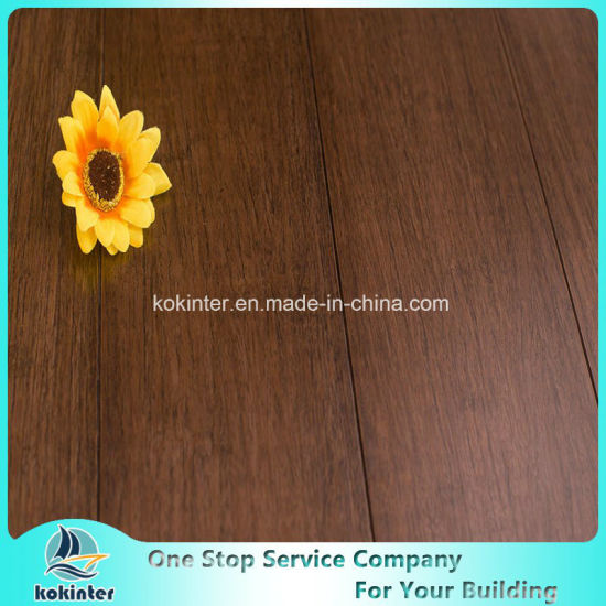 First Quality Household Strand Woven Bamboo Flooring Indoor Use in Purple Orchid Color and Cheap Price