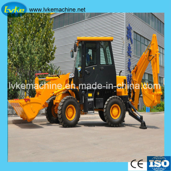 Hblk Container Top Loader Hydraulic Backhoe for Sale pictures & photos
