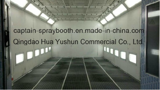 Water Based Paint Spray Booth with Nozzles pictures & photos