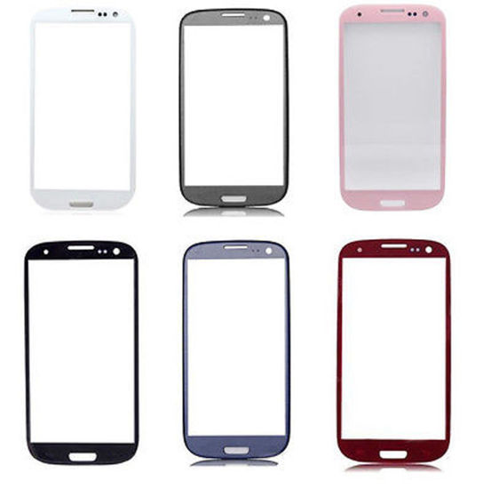 Replacement Front Screen Glass Lens Cover for Samsung Galaxy S3 I9300