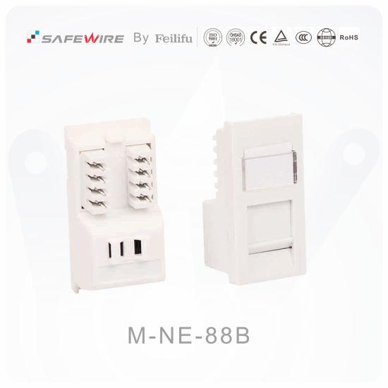 2550mm unshielded cat5e cat6 krone idc rj45 module  china