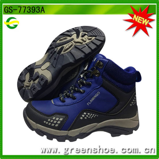 Durable Safety Kids Hiking Shoes Outdoor for Winter From China pictures & photos