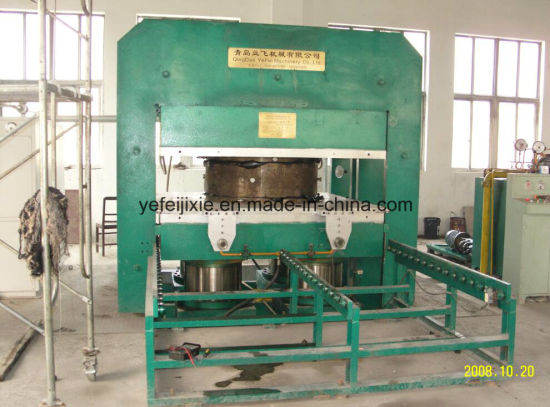 China Hydraulic Press Rubber Vulcanizer Machine pictures & photos