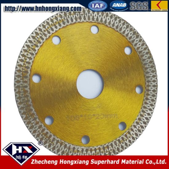 Sharp Continuous Diamond Cutting Blades for Ceramic Tiles pictures & photos