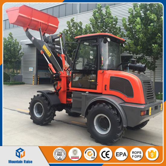 China Mini Loader 1.5 Ton Wheel Loader Mr920er New Front End Loader Zl20 Ce/ISO pictures & photos