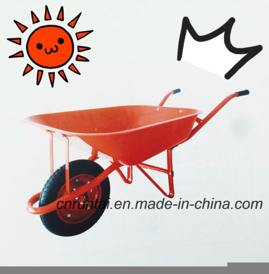 Heavy Duty Construction Wheelbarrow for Building