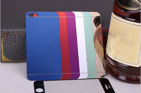 Full Color Tempered Glass Screen Protector Mirror for iPhone 5/5s