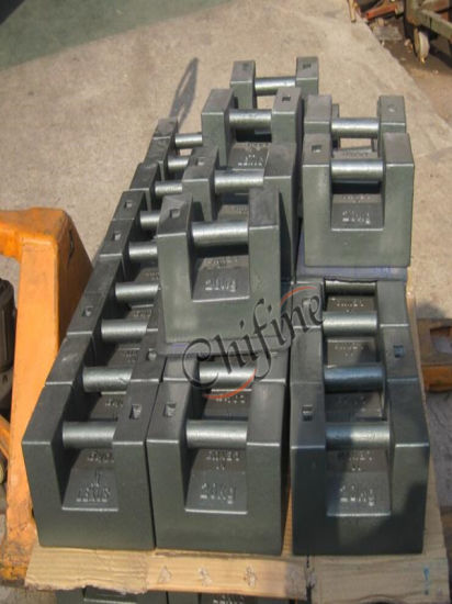 Iron Casting Counter Weight by Sand Casting pictures & photos