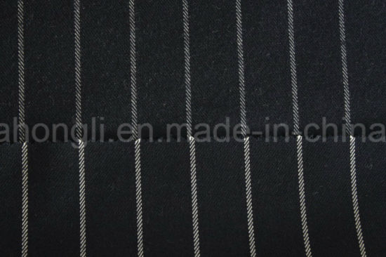 Yarn Dyed Poly/Rayon, Twill, Striped fabric, 240GSM pictures & photos