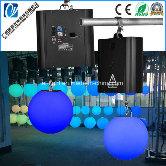 Manufacture For Dmx Winch Led Kinetic Ball And Light Pipe Ceiling Stage Project Concert Or Disco Bar With Effect