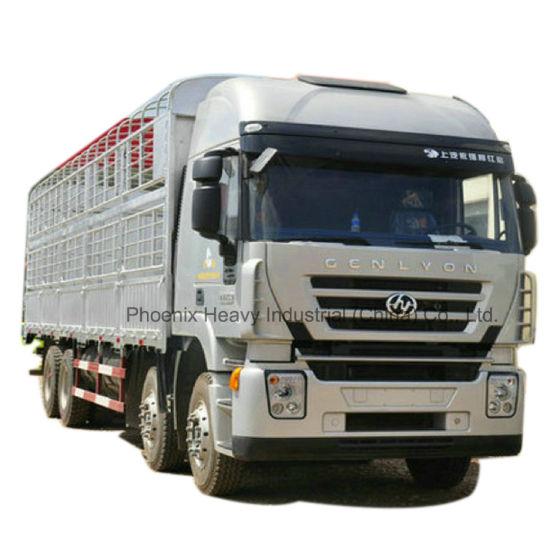 8X4 Hongyan Iveco C100 Euro4 High Roof Cargo Truck